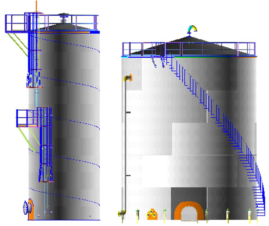 AMETank : TechnoSoft Inc  : Storage Tank Design API 650 Layouts and